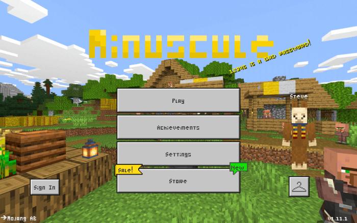 minecraft pocket edition default texture pack