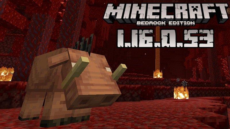 Download Minecraft Pocket Edition 1 16 0 53 Nether Update