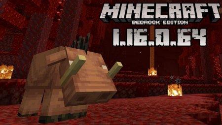 Download Minecraft Pocket Edition 1 16 0 64 Nether Update Beta Version